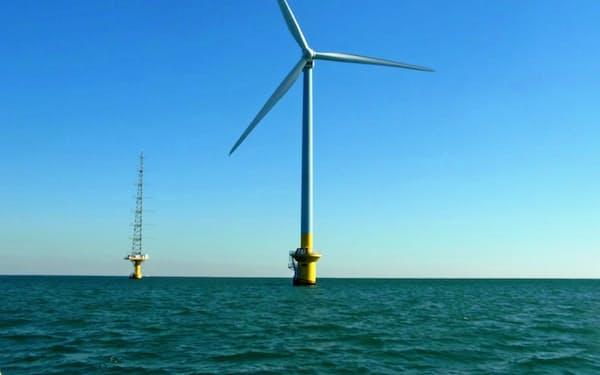 東電は今回の計画以外でも銚子沖で洋上風力を運営している
