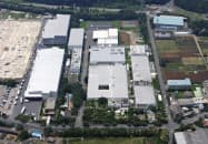 鳥居薬品の医薬品製造拠点、佐倉工場(千葉県佐倉市)