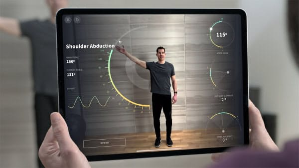 アップルの第4世代「iPad Pro」には3次元の距離測定機能を初搭載した