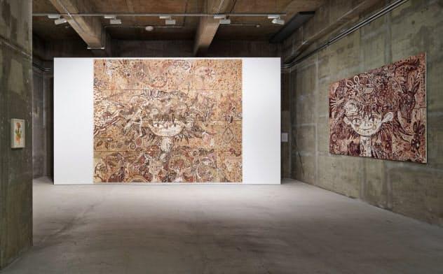淺井裕介個展「なんか/食わせろ」 (C)Yusuke Asai Courtesy of the artist,ANOMALY 三嶋一路撮影