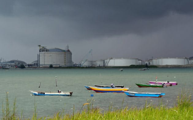 マレーシアにあるボパックの石油貯蔵施設=ロイター