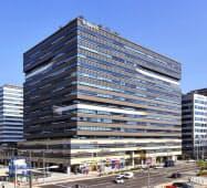 現地法人が入るソウル市内のビル