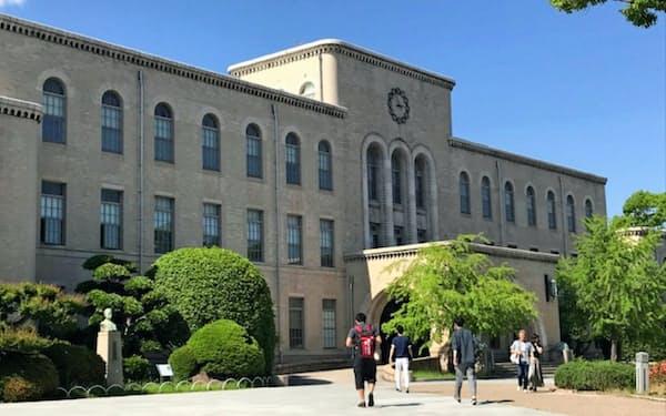 市内では約7万人の学生が通う(神戸市の神戸大学六甲台キャンパス)