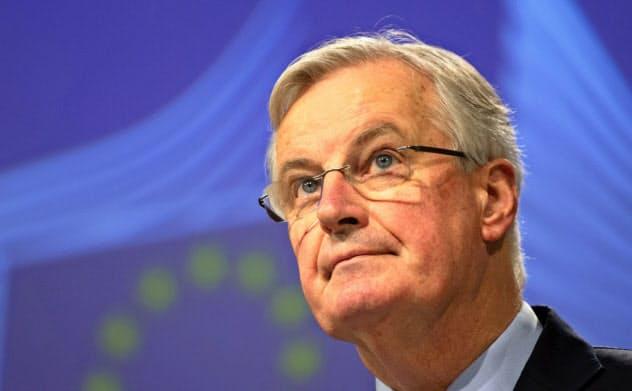 EUのバルニエ首席交渉官=AP
