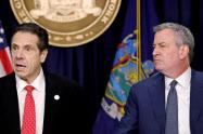 新型コロナ: NY市の外出禁止令巡り、市長と州知事が対立: 日本経済新聞