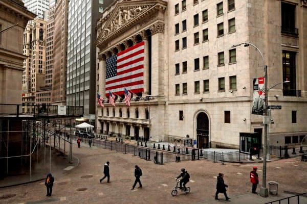 20日のニューヨーク証券取引所(NYSE)=ロイター
