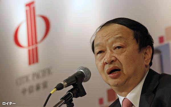中国中信集団(CITIC)の経営トップで知日派として知られる常振明氏は退任する=ロイター