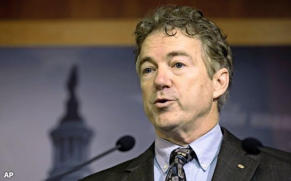 米共和党のポール上院議員は2016年の大統領選に出馬した=AP