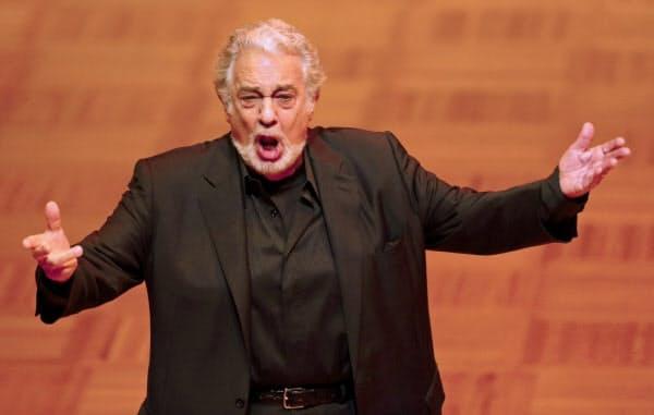 新型コロナウイルスに感染したことを明らかにしたオペラ歌手のドミンゴさん=ロイター