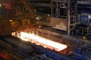 新型コロナウイルスの感染拡大の影響が懸念される(日本製鉄の鹿島製鉄所)