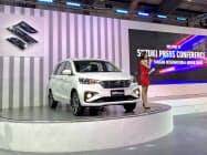 スズキはミャンマーでシェア首位を維持している(2020年2月、ヤンゴン国際モーターショー)
