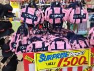 海外から余剰在庫を直接買い付け、ブランド品を格安で販売する(愛知県大口町)
