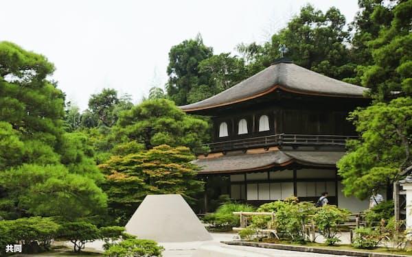 京都市の銀閣寺=共同
