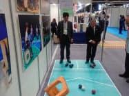 経済6団体は「彩の国ビジネスアリーナ2020」で、障害者スポーツをPRした(1月、さいたまスーパーアリーナ)