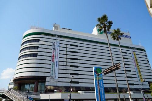 8月末で閉店するそごう徳島店(徳島市)