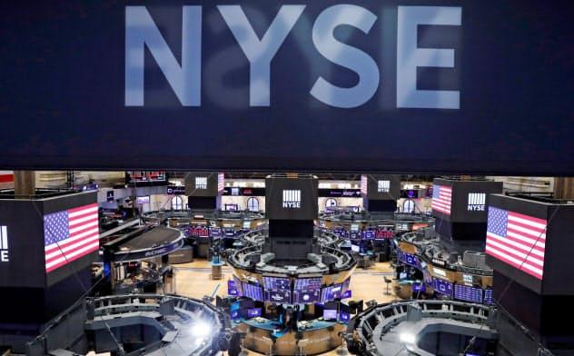 24日のダウ平均は反発して始まった(ニューヨーク証券取引所)=ロイター