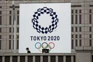 米スポンサー企業からは東京五輪延期の決定に支持が相次いだ=AP
