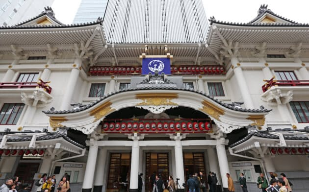 2020年3月の公演を中止した歌舞伎座