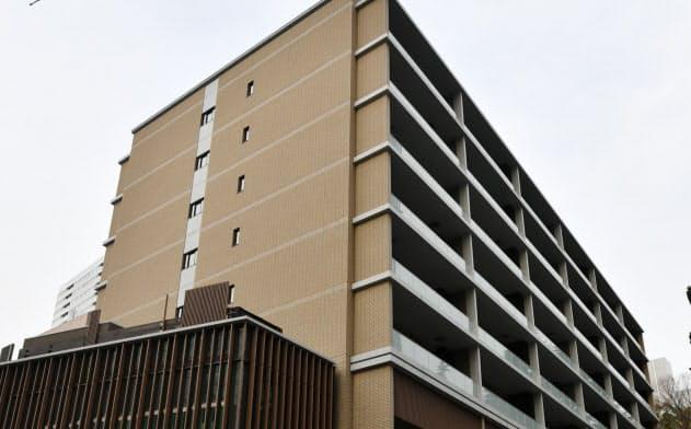 報道陣に公開された参議院新清水谷議員宿舎(2月28日、東京都千代田区)
