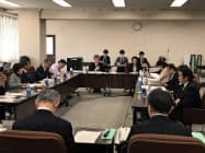 仙台市と観光・宿泊業者などとの意見交換会(25日、仙台市)
