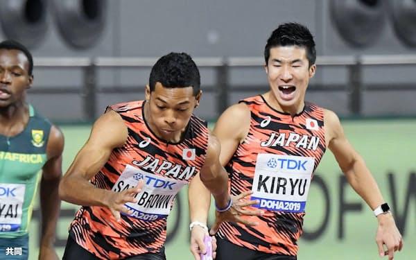 陸上男子100メートルのサニブラウンは「2021年に自分の思う形に持っていけるように」と延期を前向きに受け止める=共同