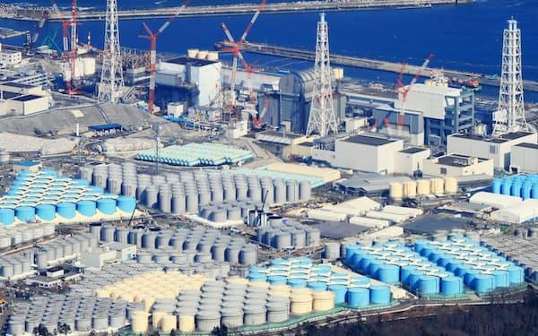 福島第1原発の事故処理には22兆円の費用が必要とされる(2019年3月、福島県大熊町)