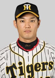 阪神の藤浪晋太郎投手=共同