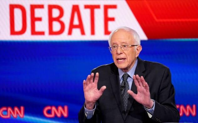 サンダース氏が米大統領選で民主党の指名を得ることはほぼないが、彼の「大きな政府が必要」とする考え方は今後も浸透していくという=ロイター