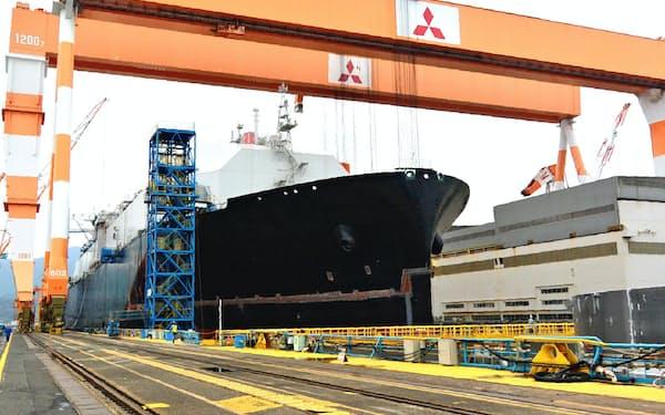三菱重工は長崎造船所の香焼工場など3工場を売却へ(長崎市)