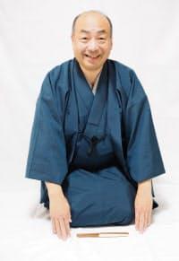 「超すじょうるり会」を催す人形浄瑠璃文楽太夫の豊竹藤太夫