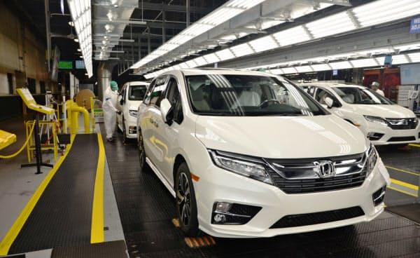 ホンダは北米生産の再開を延期する(アラバマ州の完成車工場)