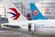中国は全航空会社に北京首都国際空港への直行を禁じるなど新型コロナの感染拡大防止策を講じている=ロイター