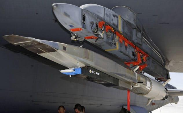 米空軍の極超音速飛行体の試験機=ロイター