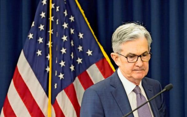 米連邦準備理事会(FRB)は資産を急拡大している(パウエルFRB議長)=ロイター