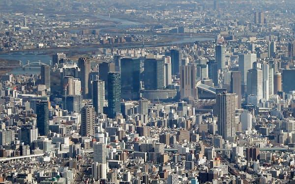 大阪府では新型コロナウイルスの感染拡大で訪日外国人客が激減している