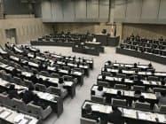 東京都議会の本会議場