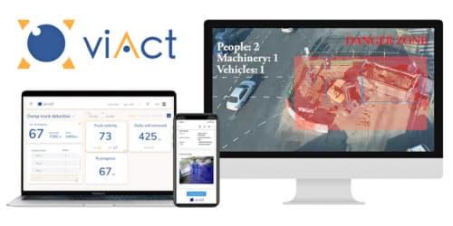 工事現場をAIで管理することで安全管理と作業効率を向上させる(視動智能提供)