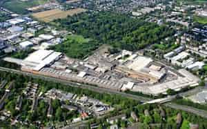 ドイツにあるSTEP―Gの工場