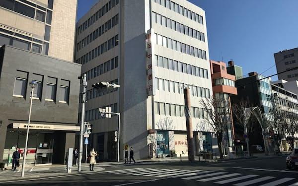 静岡中央銀の本部(静岡県沼津市)