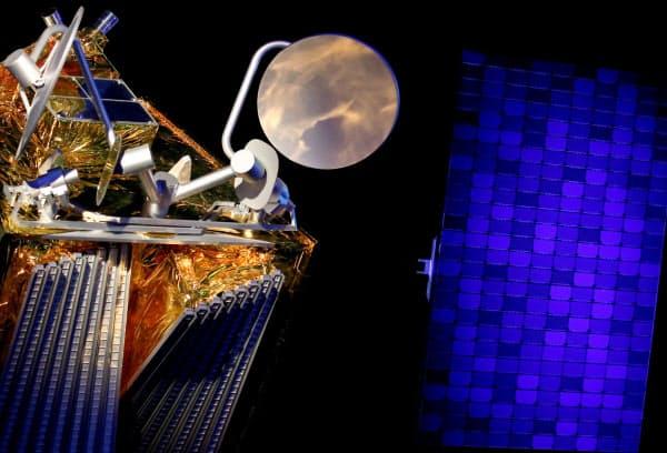 ワンウェブの衛星(19年2月、フランス)=ロイター