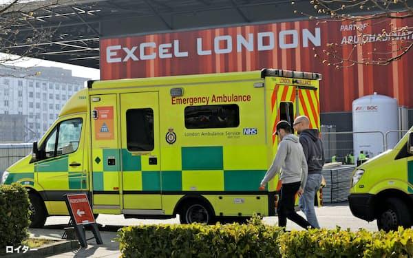 英国の新型コロナ感染者数は27日時点で約1万4500人に(ロンドン)=ロイター