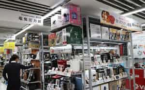 ビックカメラ有楽町店では、2月に入り調理家電への問い合わせが増えているという。