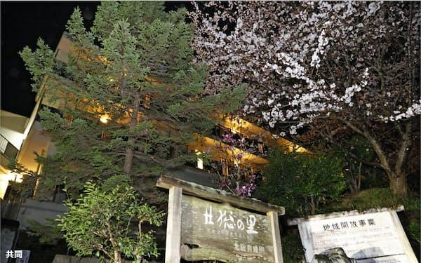 障害者福祉施設「北総育成園」(28日午後、千葉県東庄町)=共同