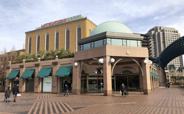 三越恵比寿店は周辺施設との競争で業績が低迷していた(東京・渋谷)