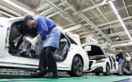 愛知県豊田市のトヨタ自動車元町工場