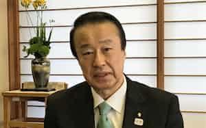 石川県加賀市長の宮元陸氏