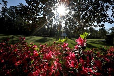 オーガスタのある米南部ジョージア州は温暖な気候で、11月は雨も少ない=ロイター