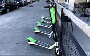 欧州では電動スクーターのシェアリングサービスが普及している