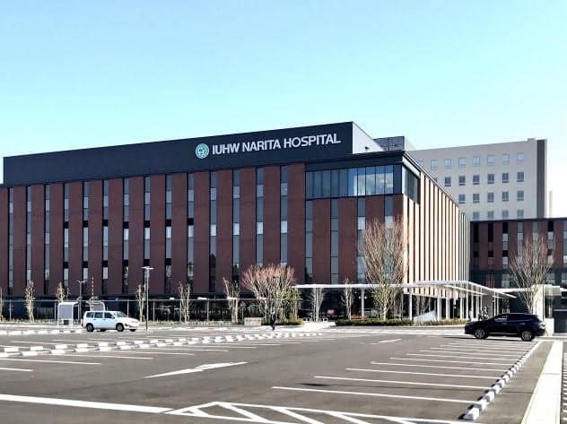 陰圧室を前倒しで開院した国際医療福祉大成田病院(千葉県成田市)