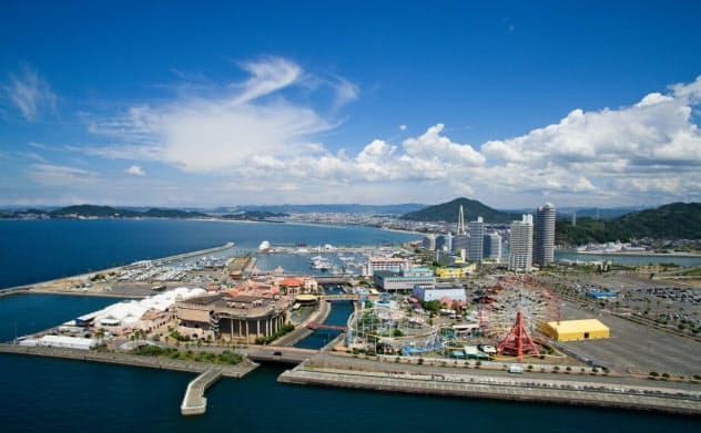 和歌山県は人工島「和歌山マリーナシティ」(和歌山市)へのIR誘致をめざす